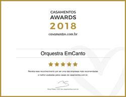 Casamentos Awards 2018 - Orquestra EmCanto