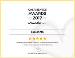 Casamentos Awards 2017 - Orquestra EmCanto